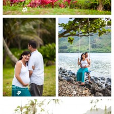 Oahu Hawaii Beach Maternity Photography