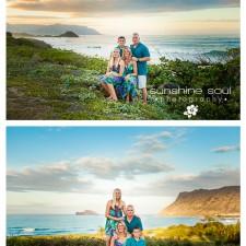 A Family - Kailua Hawaii Portrait Photographer