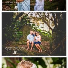 S Family - Holiday Mini-Session Family Portrait Session - Kailua, Hawaii Family Portrait Photographer Jennifer Buchanan, Sunshine Soul Photography
