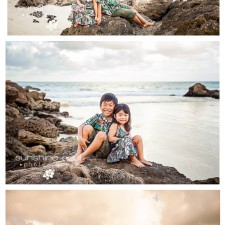 G Family Beach Family Portrait Session - Oahu, Hawaii Family and Child Portrait Photographer Jennifer Buchanan - Sunshine Soul Photography