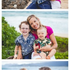 Kailua, Hawaii (Oahu) Family Beach Portrait Photographer, Sunshine Soul Photography - C Family