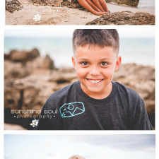 P Family - Hawaii Beach Family Portraits - Jen Buchanan, Sunshine Soul Photography