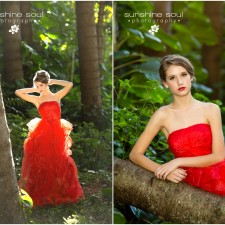 Erika - Model Portfolio Portraits - Okinawa Senior Portrait Photographer Jennifer Buchanan - Sunshine Soul Photography