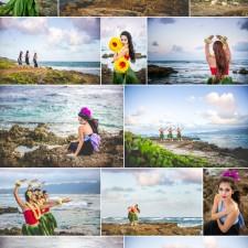 Hawaiian Hula Dancers {Okinawa Senior Portrait Photographer, Jennifer Buchanan - Sunshine Soul Photography}