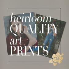 Preserve your memories with Heirloom Quality Art Prints. Sunshine Soul Photography - Denver's Premier Senior Portrait Photographer